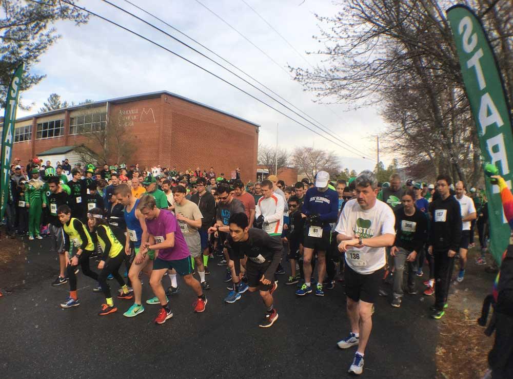 Asheville Shamrock Run
