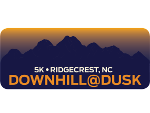Downhill At Dusk 5K Logo