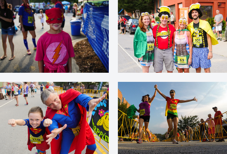 Super Hero 5K and Super Villain 10K