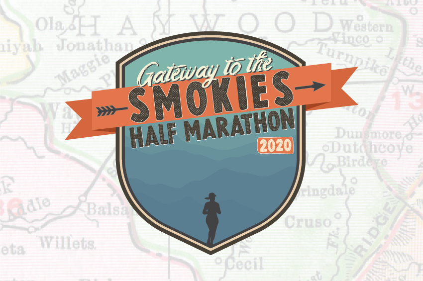 Gateway To The Smokies Half Marathon Logo