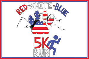 Red White and Blueridge 5K Logo