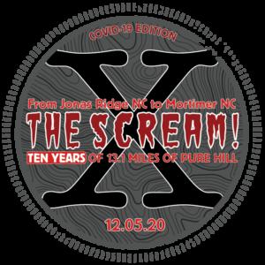 The Scream Half Marathon Covid Edition Logo