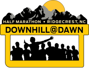 Down Hill At Dawn Half Marathon