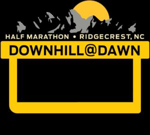 Down Hill At Dawn Half Marathon