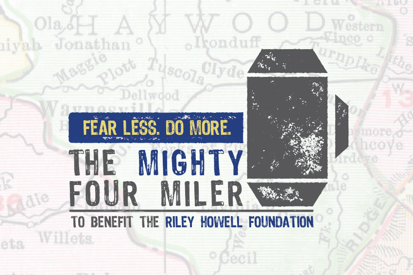 Mighty Four Miler For The Riley Howell Foundation - Logo