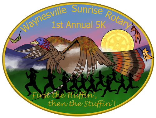 Waynesville Sunrise Rotary Turkey Trot