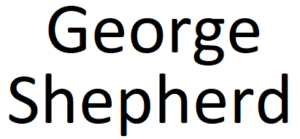 GeorgeShepherd