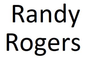 Randy Rogers
