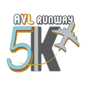 AVL Runway 5K Logo